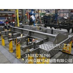 三维柔性焊接平台铸铸件抛丸处理后发黑的表现图片