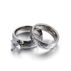情侣戒指订制、时尚情侣戒指订制、卡轮(优质商家)图片