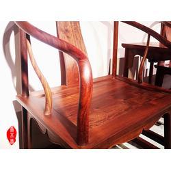 缅花1米8办公桌书柜-善木缘红木颇享盛誉-缅甸花梨图片