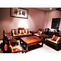 沧州客厅红木家具图片