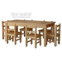 实木幼儿园玩具柜课桌椅专业定做图片
