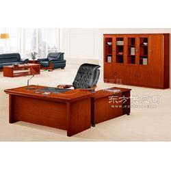 供应南康之冠实木老板桌图片