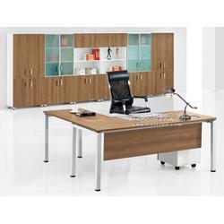 供应板式大班台板式办公桌板式主管台图片