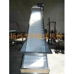 不锈钢链板输送机厂家_杰伟输送机械_链板输送机图片