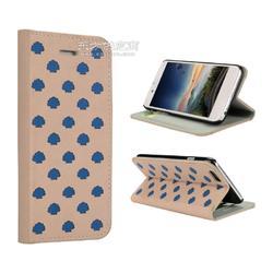 苹果手机皮套4.7寸手机配件带支架真皮简约翻盖插卡厂家定制图片