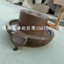 家用手摇小石磨 哪里有卖石磨的 专业石碾厂家图片