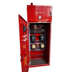 正濟消防泵廠家-博山雙電源消防控制柜圖片