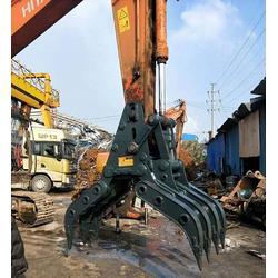 废钢打包机抓斗-鸿工机械公司-废钢打包机抓斗供应商图片