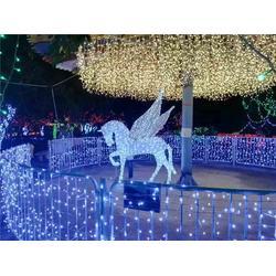 大型led节日彩灯设计、山东led节日彩灯设计、伟兰照明图片