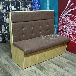 餐厅卡座沙发茶餐厅沙发卡座厂家定做图片