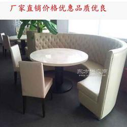 餐厅家具定制 大力石餐桌现代简约 圆餐桌圆形北欧餐桌圆桌图片