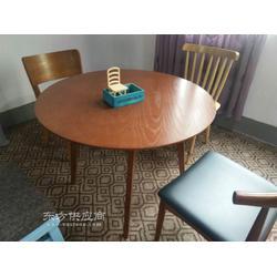 定制 甜品店桌 咖啡厅餐桌 奶茶店餐桌椅 冷饮店餐桌椅一桌两椅图片