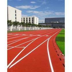 张家口塑胶跑道|立新体育设施工程|塑胶跑道翻新图片