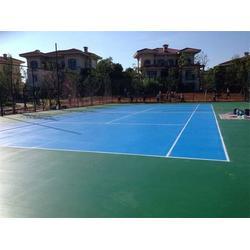 天津丙烯酸球场厂家-天津丙烯酸球场-立新体育设施(查看)图片