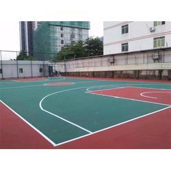 天津丙烯酸球场-立新体育设施工程-丙烯酸球场施工厂家图片