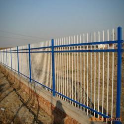 学校围墙护栏厂区锌钢护栏别墅庭院围栏隔离防护网厂家直销图片