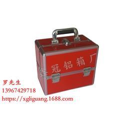 双开化妆箱哪有卖、安徽双开化妆箱、鑫冠铝箱厂品质的保证图片