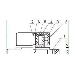 张家口电磁仓壁振动器、共威机械、cz型电磁仓壁振动器图片
