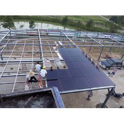 屋顶分布式电站,华米光伏团队,住宅屋顶分布式电站图片
