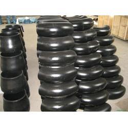 碳钢弯头、中维管件制造厂家(在线咨询)、冲压碳钢弯头图片