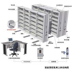 智能电动密集架厂家、贵州册亨县密集架厂家、牧坤办公家具图片