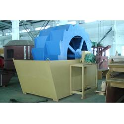 宁夏轮式洗沙机,潍坊市恒泰机械,轮式洗沙机报价图片