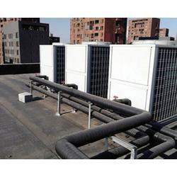 晋中空气能热水工程-智达志远-空气能热水工程施工图片