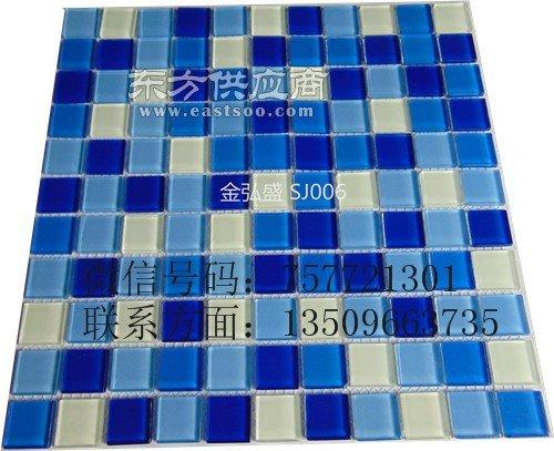 拼花马赛克厂家直销游泳池工程长期供应商图片