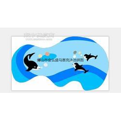 供应陶瓷马赛克厂家常用豪宅大型泳池砖图片