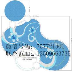 供应陶瓷马赛克拼图池底游泳池拼图瓷砖图片