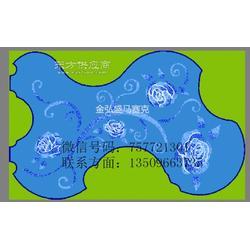 佛山陶瓷马赛克拼花_景观游泳池陶瓷马赛克拼图工程瓷砖