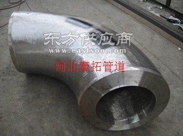 大口径镀锌弯头制造厂家图片