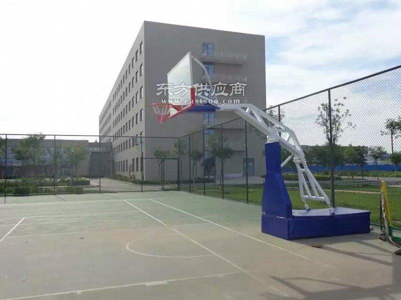 地埋式单臂篮球架--厂家批发价 货到付款南阳市