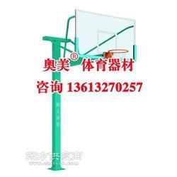 石嘴山市平箱仿液压篮球架图片