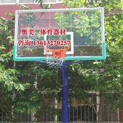 恩施地埋篮球架图片