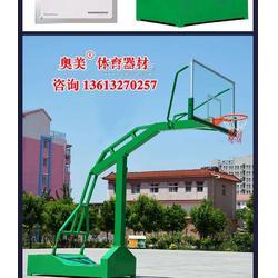 手动液压篮球架-厂家价 货到付款鹤岗市图片