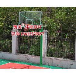 升降式篮球架规格、参数(北海市)图片