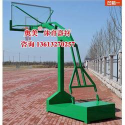 绵阳填埋式篮球架图片