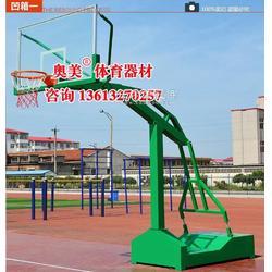 墙体悬臂篮球架 徐州市篮球架图片