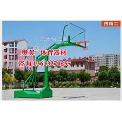 永州市凹箱式篮球架规格、参数图片