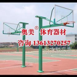 烟台地埋方管篮球架诚信合作图片