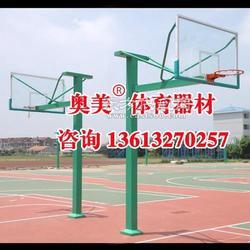 黄石手动液压篮球架图片