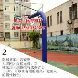 湖北武汉市篮球架图片