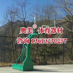曲靖市填埋式篮球架多少钱图片
