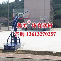 济宁市电动液压篮球架多少钱图片