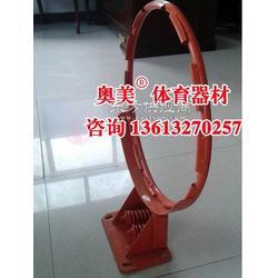 中山市独臂圆管篮球架规格、参数图片