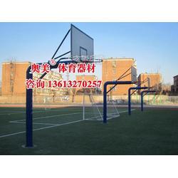 茂名预埋式篮球架《专业品质》图片