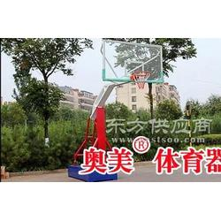 阿勒泰平箱式篮球架规格、参数图片