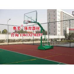 博尔塔拉地埋方管篮球架规格、参数图片
