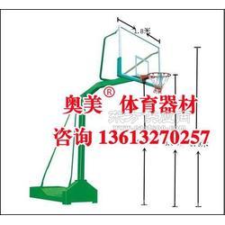 台州市地埋式单臂篮球架报价图片